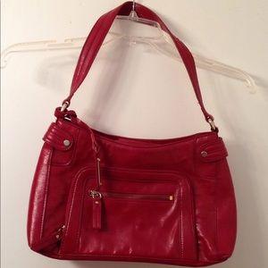 Liz Claiborne red bag